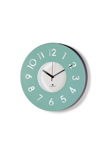 Michael Graves<br />JCP Celadon glass wall clock