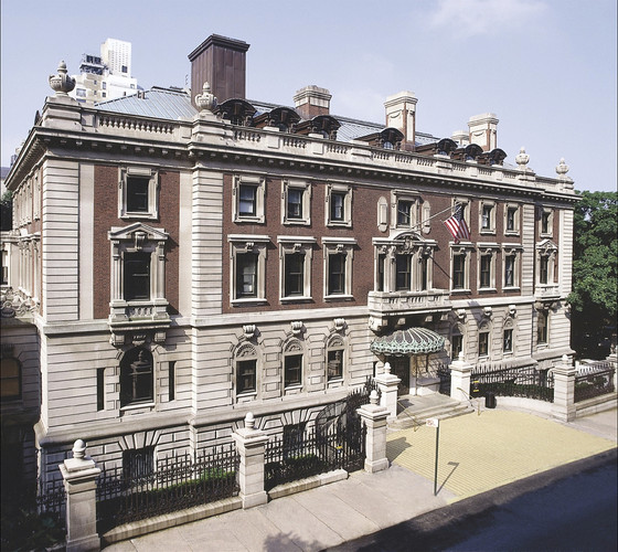 The Cooper Hewitt is housed in the Carnegie Mansion, built from 1899-1902.