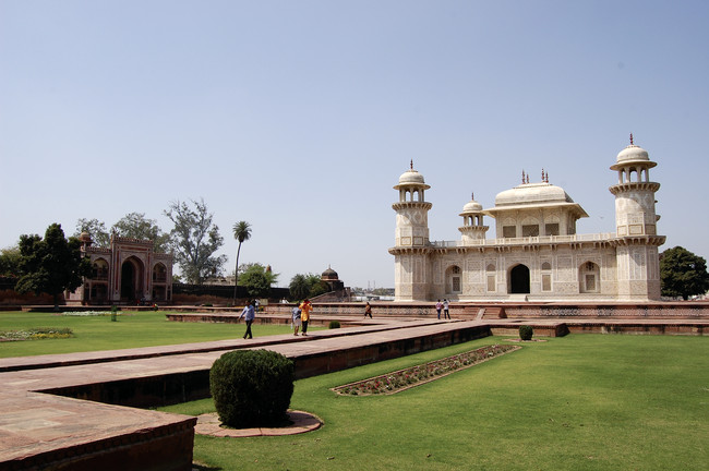 The World Monuments Fund named its restoration of the Mughal Gardens in  Agra, with the Archaeological Survey of India, as its most important  work in the built environment this year.<div id='_mcePast