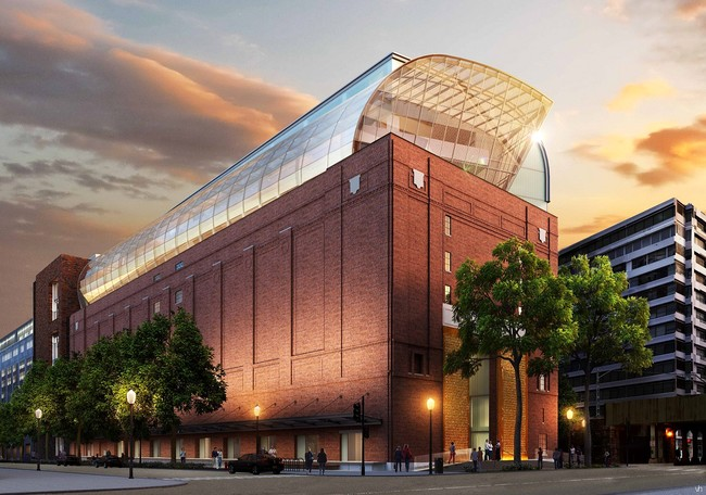 SmithGroup will adapt and renovate a former 1920s refrigeration warehouse for the 430,000-square-foot Museum of the Bible, scheduled to open in October 2017 in Washington, D.C.