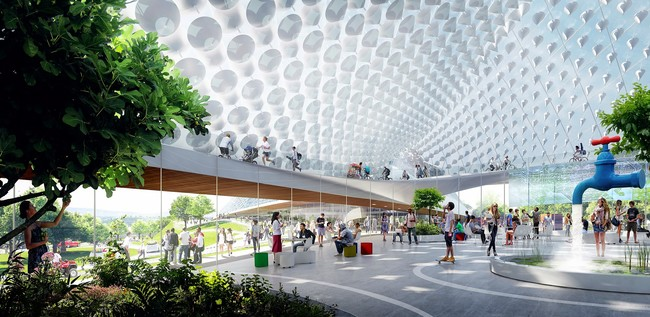 Google Unveils Master Plan for Silicon Valley HQ