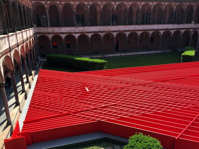 Milan Dispatch: Architects Manipulate Materials
