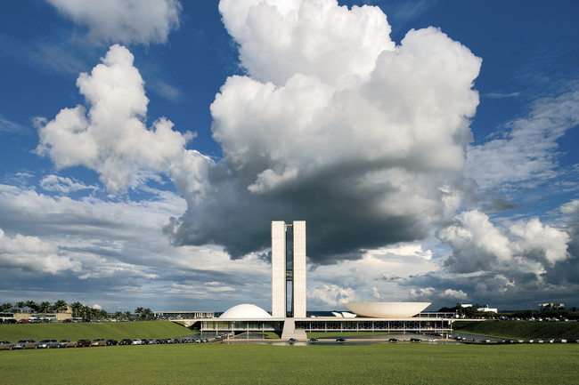 National Congress<br />Oscar Niemeyer<br />Bras&#237;lia<br />1957&#8211;64<div id='_mcePaste'>&#65279;&#65279;