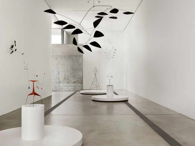 The first exhibit in the reopened foundation includes works by Alexander Calder.