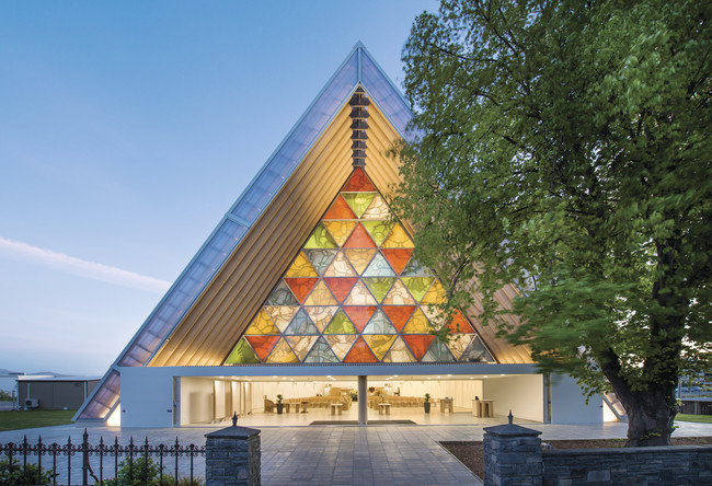 <p><strong>Cardboard Cathedral</strong><br />Christchurch, New Zealand, 2013</p>