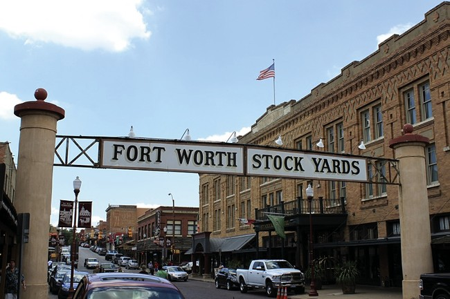 <strong>Fort Worth Stockyards</strong><br />Fort Worth, Texas<br />In the late 19th and early 20th centuries, the livestock industry transformed Forth Worth from a small town to a major metropolitan c