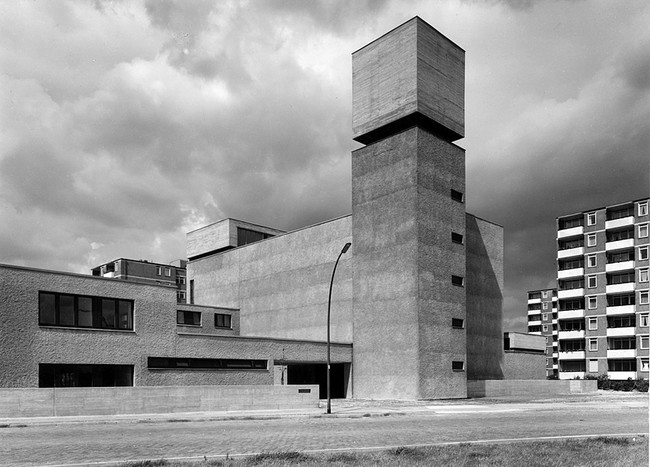 Brutalist St. Agnes Church in Berlin Becomes Art Gallery