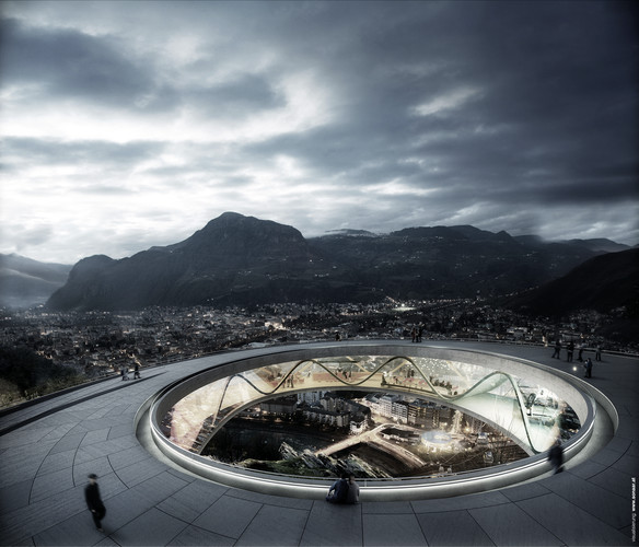 Snøhetta's Winning Design for an Italian Mountain Funicular