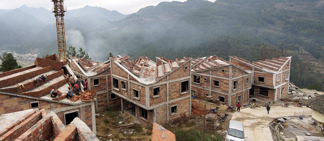 RUF is reconstructing the Jintai Village following an earthquake and, later, a devastating landslide.