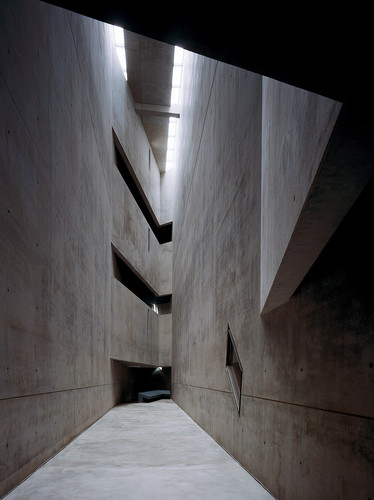 Libeskind's Jewish Museum in Berlin, completed in 1999.