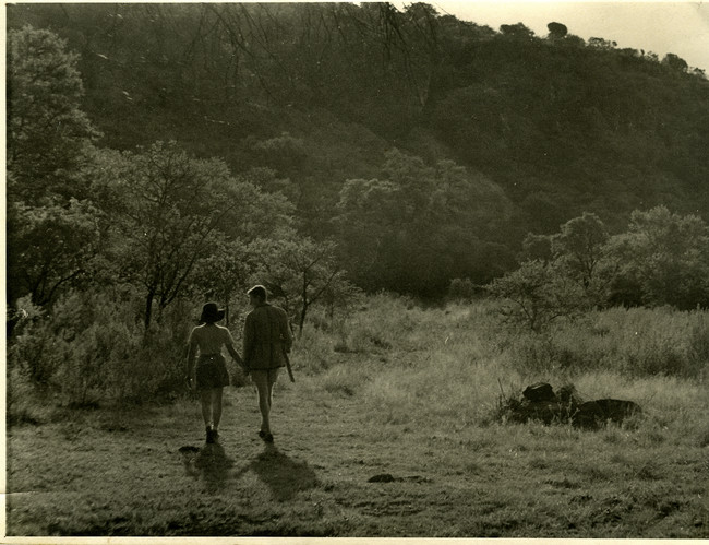 Denise and Robert Scott Brown in South Africa.
