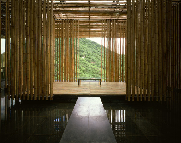 Kengo Kuma's the Great Wall.