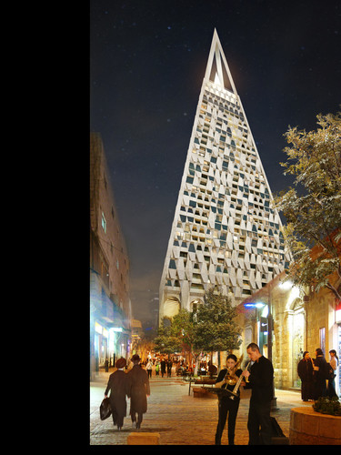 Libeskind's Jerusalem Tower Chopped, But Not Tossed