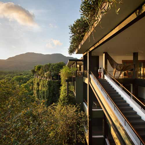 <strong>Runner-Up:</strong> Sense of Place<br /><strong>Photographer:</strong> Tom Roe<br /><strong>Building:</strong> Kandalama Hotel, Dambulla, Sri Lanka<br /><strong>Architect:</strong> Geoffrey Ba