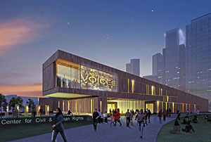 The Freelon Group was chosen to design the new Center of Civil & Human Rights in Atlanta.