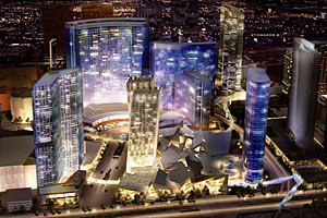 CityCenter, the highly publicized $8.5 billion mixed-use project now under construction on the Las Vegas Strip