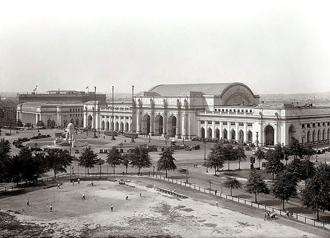Union Station (1908) in Washington, D.C.