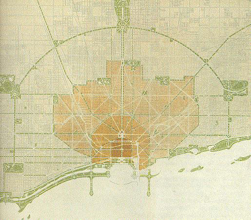 1909 Plan for Chicago.