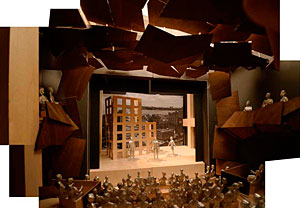 Gehry is designing a $60 million new home for the Signature Theatre Company.