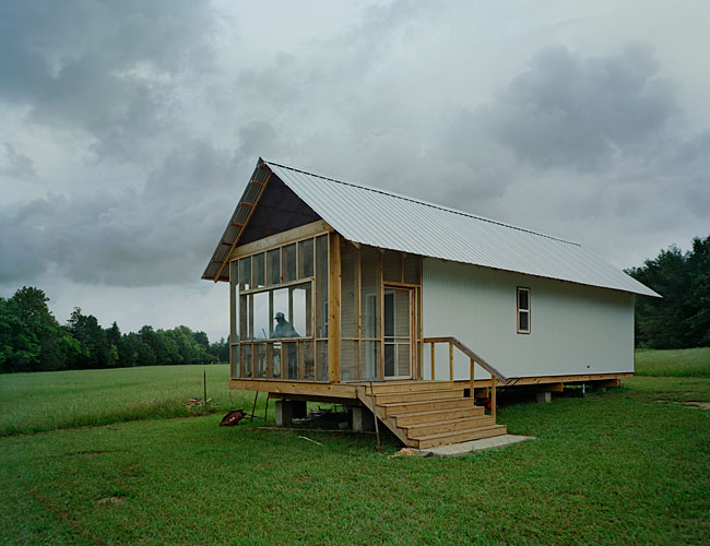 Rural Studio, Auburn University; $20K House VIII (Dave's House); Newbern, Alabama; 2009
