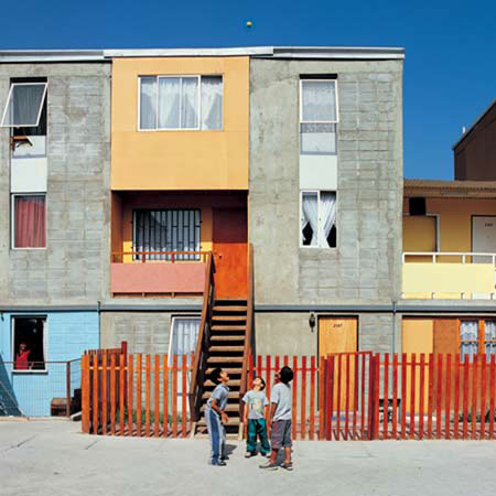 Elemental; Quinta Monroy Housing; Iquique, Chile; 2003-5