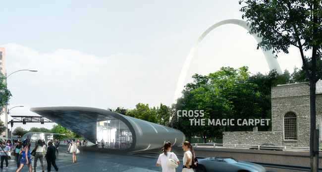 In St. Louis, A Green Oasis for Saarinen's Gateway Arch