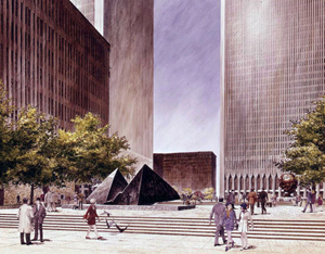 World Trade Center rendering