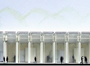 Renzo Piano's Final Design for Kimbell Museum Addition