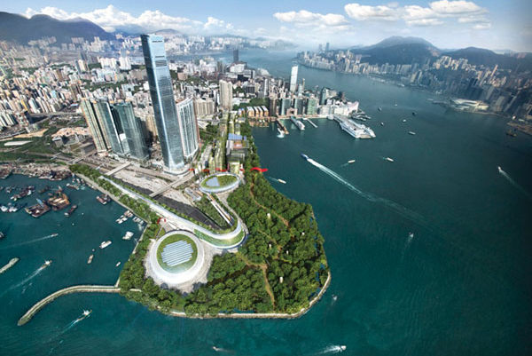 West Kowloon Cultural District (WKCD), Hong Kong