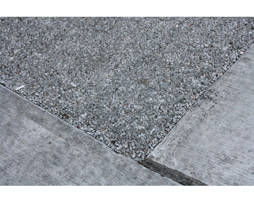 Chicago's Green Alleys use permeable pavements. This alley uses a combination of permeable and high-albedo concrete.