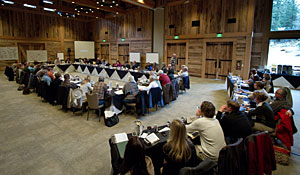 Dozens of educators and civic leaders gathered at the Sundance Resort this month for a green schools summit.
