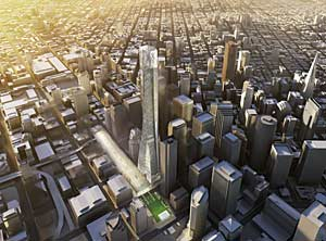 Proposal by the team of Skidmore Owings & Merrill and the Rockefeller Group Development Corporation