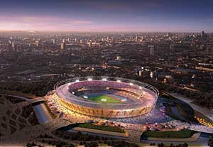 2012 Olympic Stadium in London