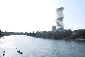 Herzog & de Meuron is designing a 40-story tower to serve as the headquarters for Roche, in Basel, Switzerland.
