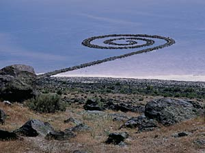 Robert Smithson's 1970 Spiral Jetty