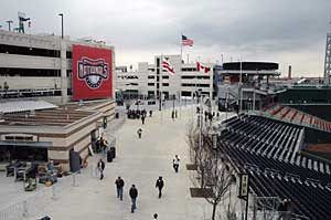 Nationals Park, designed by HOK Sport and Devrouax + Purnell Architects