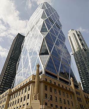 The Hearst Tower in New York by Foster and Partners