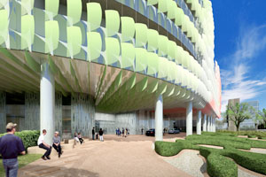 HKS-designed Royal Children's Hospital, in Melbourne