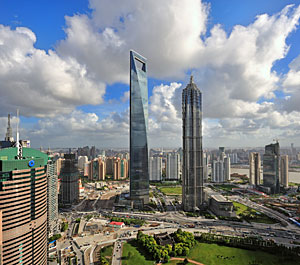 The Shanghai World Financial Center, by KPF, was completed last year.