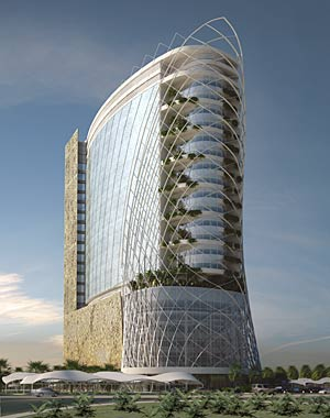 Dallas-based HKS recently won a contract to design a 160-bed hospital in Abu Dhabi.