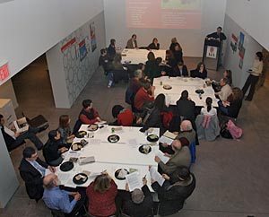 forums at the Center for Architecture in New York