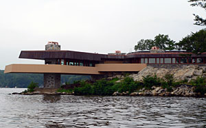 The Massaro House, designed by Wright