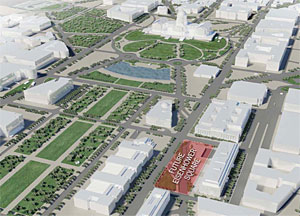 The $110 million project is set for completion in 2014.