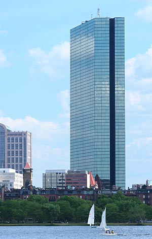 I.M. Pei and Henry N. Cobb's John Hancock Tower (1976)