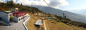 the Manjushree Orphanage Academic Center, to be built in a small town in the Himalayas.