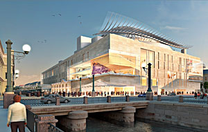 New Mariinsky Theatre in St. Petersburg