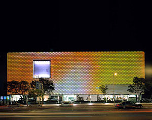 Designed by UN Studio, the Galleria Hall West, in Seoul, South Korea, opened in 2004.