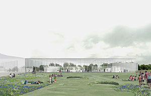 Construction recently began on a new Louvre satellite museum designed by SANAA and Imrey Culbert.
