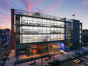 The Frank Sinatra School of the Arts, in New York City, is one of the firm's recent projects.