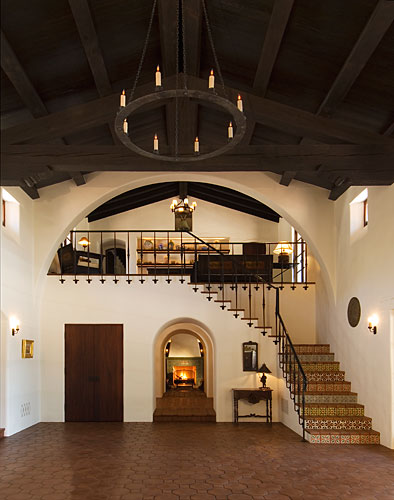 The interior of a home designed by Thomas Bollay in Ventura County, Calif.